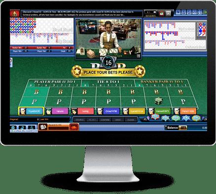 Tampilan Sbobet Casino #1